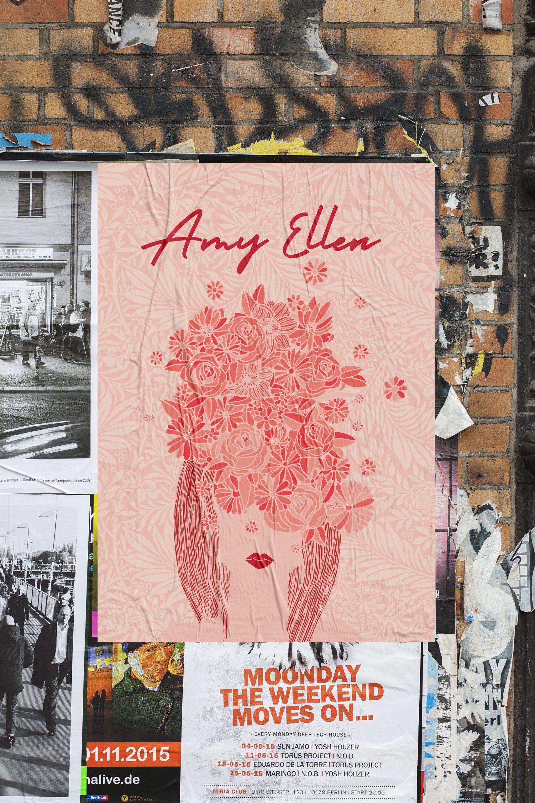 Affiche Amy Ellen
