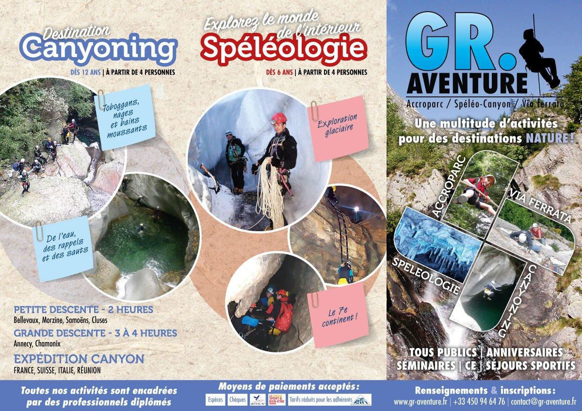Depliant GR Aventure
