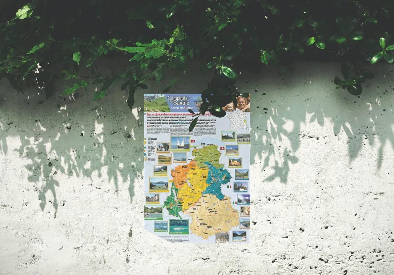 Dépliant Campings des Savoie