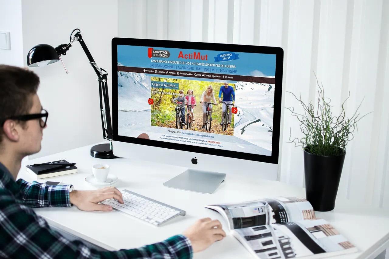 Site Assurances Sports & Loisirs Actimut